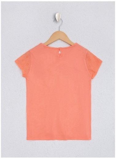 U.S. Polo Assn. U.S. Polo Assn. Somon Kız Çocuk T-Shirt Somon